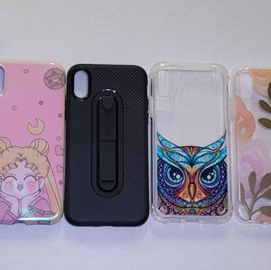 iPhone X/XS Case & Screen Protector Lot
